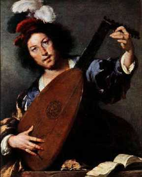 Alonso Mudarra with lute